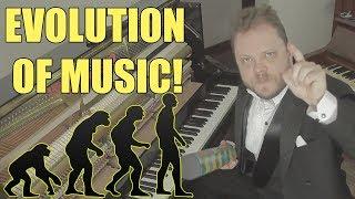 Evolution Of Music ( 1680 AD   2017)