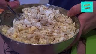 Рыбный салат с минтаем! Вкусный и простой рецепт!