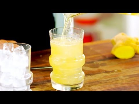 Video Ginger Tequila Cocktail - Gluten Free with Alex T