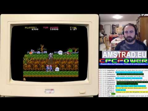 Ghosts'n Goblins (CPC+) / Baba's Palace / Profanation 2 …