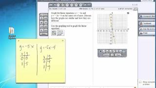 Graph Linear Equations In MyMathLab