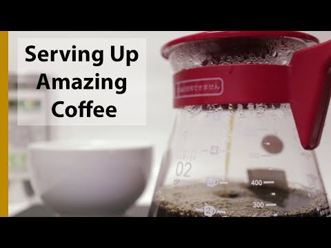 Making Coffee with the V60 Server Set