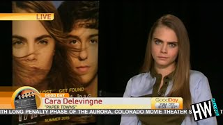 WTF! Cara Delevingne's Painfully Awkward TV Interview!