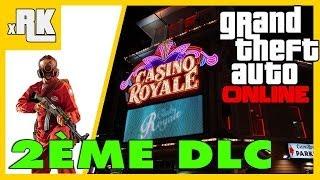 GTA Online : 2ème DLC! Braquage De Casino, Deal De Drogue, Assassinats... LEAK PS3 HD Français - XRK
