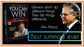 You can win summary || Shiv Khera || Best summmary ever