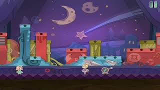 Paper Anne : Level 3-7 MoonLight Walkthrough {ios}