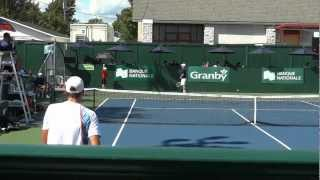 preview picture of video 'CHALLENGER BANQUE NATIONALE DE GRANBY - Vasek Pospisil / Daniel Garza R16'