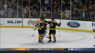 Bruins blow out the Habs 7-0 3/24/11 1080p HD