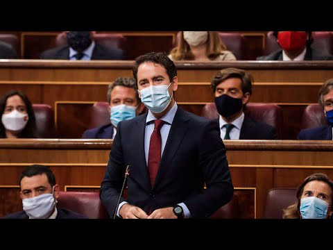 Teodoro García Egea interviene en la sesión de control al Gobierno