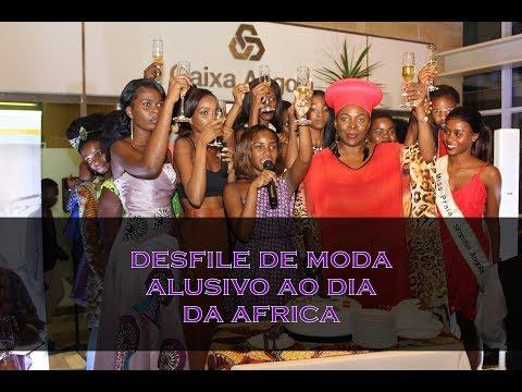 Desfile de Moda Alusivo ao Dia da Africa