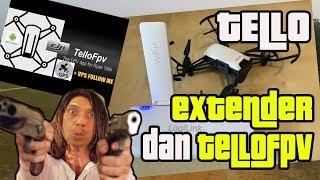 TELLO WIFI EXTENDER DAN TELLOFPV APPS