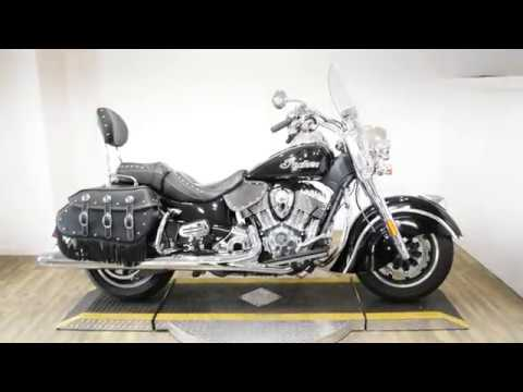 2018 Indian Springfield® ABS in Wauconda, Illinois - Video 1