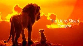 The Lion Sleeps Tonight Lion King Lyrics Video - Billy Eichner & Seth Rogen