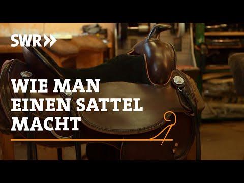 Handwerkskunst! Wie man einen Sattel macht | SWR Fernsehen