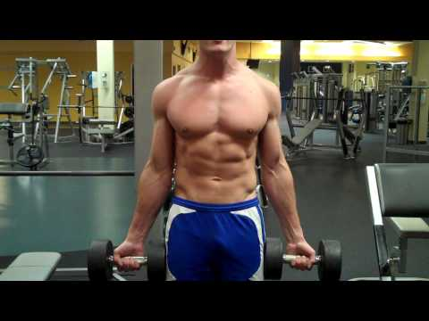 Standing Alternating Dumbbell Curls