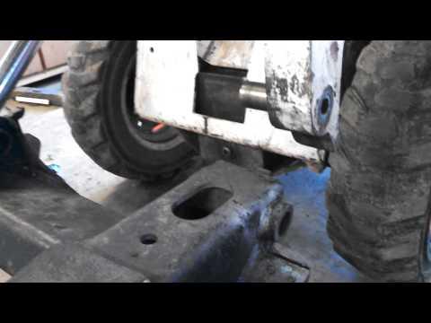 Bobcat quick attach bobtach removal & rebuild info