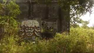 preview picture of video 'Old French Villa with Graffiti, Kep, Cambodia'