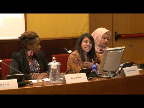 A Human-Centred Future of Work with and for Youth - Rights and Voices of Youth conference