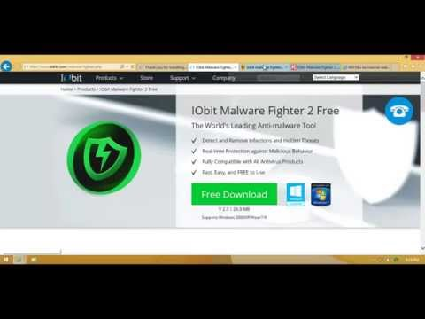 IObit Malware Fighter tutorial