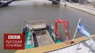Тонны мусора из Москвы-реки, куда они деваются?