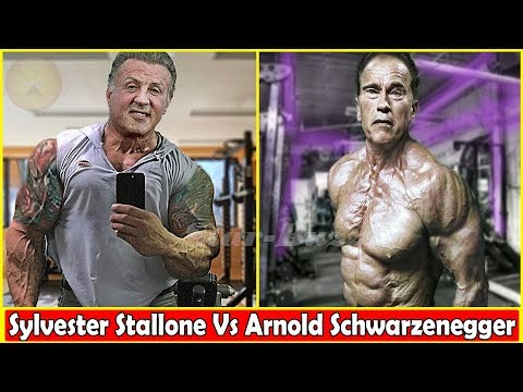 Sylvester Stallone Vs Arnold Schwarzenegger Body Transformation 2019 In Real Life And Age
