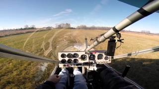 1st landing at home dead stick, rans s-12 with rotax 912