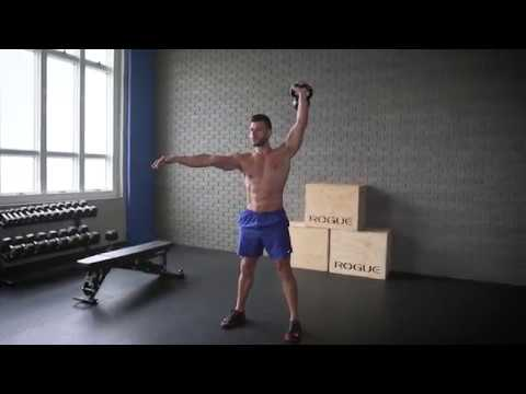 Single Kettlebell Clean and Press