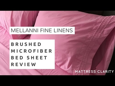 Mellanni Brushed Microfiber Bed Sheet Review - Affordable and Luxurious?