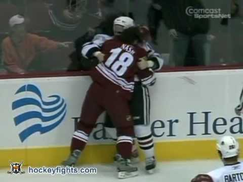 Tyson Nash vs. James Wisniewski