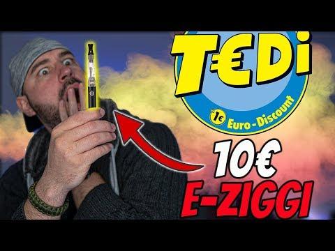 Ich habe sie wirklich gekauft 😂 Die 10€ E-Ziggi vom TEDI Discounter