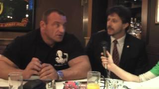 Mariusz Pudzianowski talks Moosin fight with Tim Sylvia