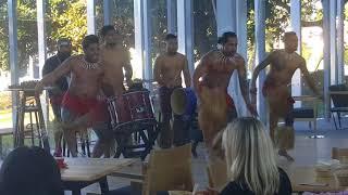 Tatau Group Samoan Drums and Dance performance at Samoan Language Week, Takapuna, NZ