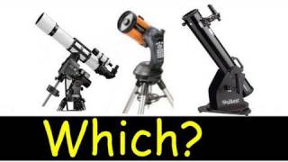 Which telescope to buy humm what does this mean