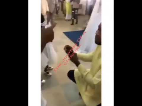 PROPOSAL GONE WRONG IN CHURCH