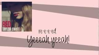[Official] Taylor Swift   RED   (LYRICS  HQ AUDIO)