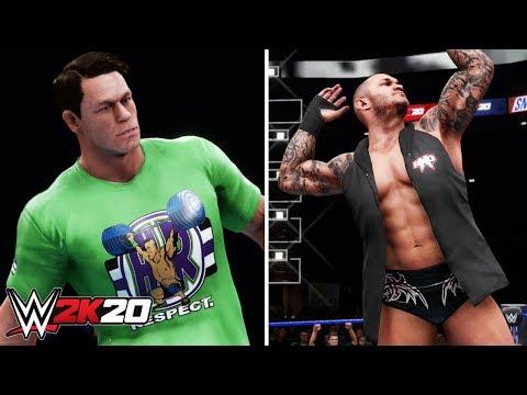 John Cena & Randy Orton Entrance + Unique Rivalry Commentary | WWE 2K20 | Delzinski