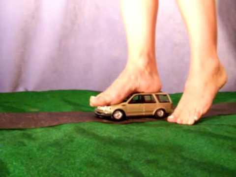 Women crushing cars
