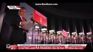 O Primeiro Dia De Rui Vitória No SL Benfica