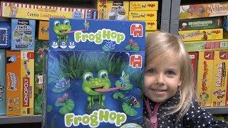 Frog Hop (Jumbo) - ab 4 Jahre - na wer ist hier schneller?