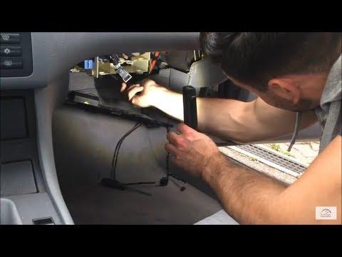 BMW E46   Zentralverriegelung Steuergerät Relais tauschen   central locking relay exchange