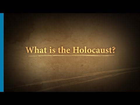 What is the Holocaust? Part 1