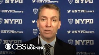 NYPD Commissioner Dermot Shea discusses his officers' response to protests