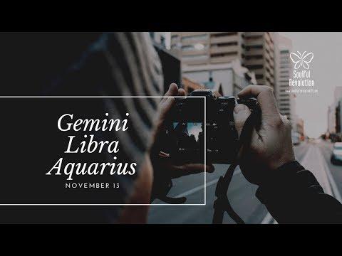 Just when you thought things were settling down, AIR Nov 13 Gemini Libra Aquarius
