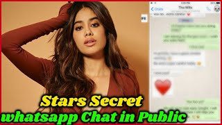 Secret Whatsapp Chat of Bollywood Stars That Came in Public