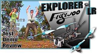 EXPLORER LR FLYWOO - Review Test Démo - Long Range Cruiser Mini !