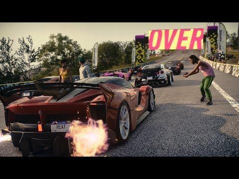 Need For Speed Heat - Ferrari FXX-K Evo Fully Upgraded Gameplay (LV50 Crew Rep Reward)