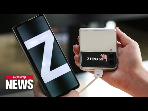 Preorders for Samsung's new foldable phones 'Galaxy Z Fold 3' 'Galaxy Z Flip 3' begin Tuesday