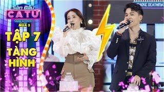 """Sàn đấu ca từ 3   Tập 7 vòng 1: Khả Như hy vọng sẽ chiến thắng """"vượt mặt"""" hotboy hát giọng nữ"""