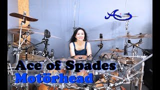 Motörhead- Ace of Spades drum cover by Ami Kim (#58)