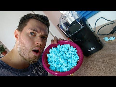 Günstige Popcorn Maschine im Test (Popcorn Maker)